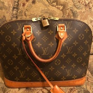 Handbags - VINTAGE LOUIS VUITTON MONOGRAM ALMA BAG